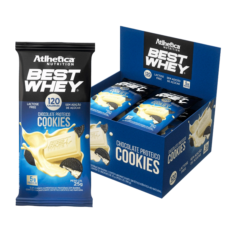 Best Whey Chocolate Proteico (12unid-25g) Atlhetica Nutrition