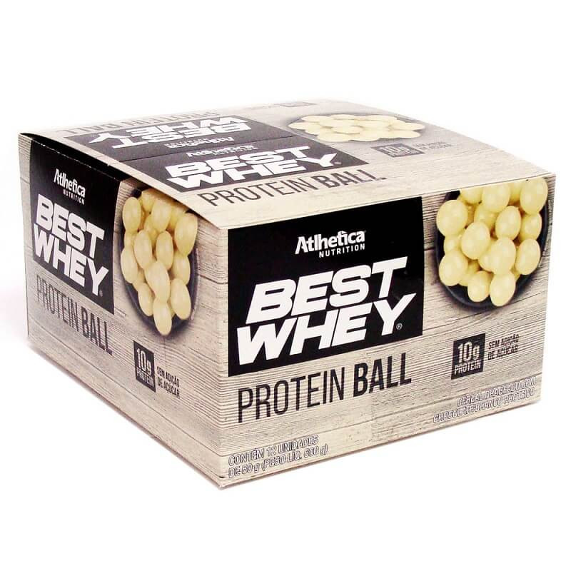 Best Whey Protein Ball (12unid-50g) Atlhetica Nutrition-Duo