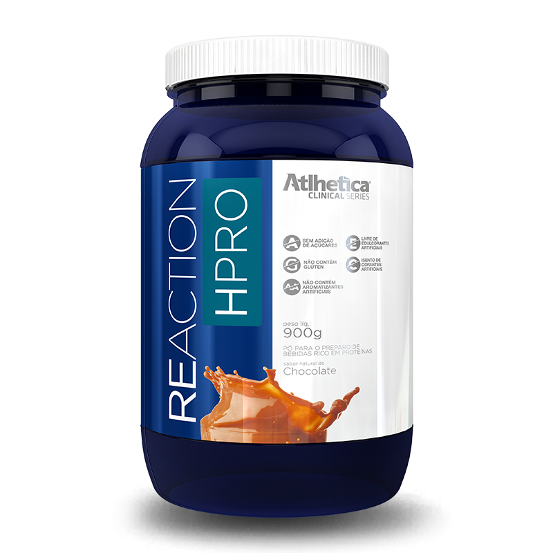 Reaction HPRO (900g) Atlhetica Nutrition -Chocolate