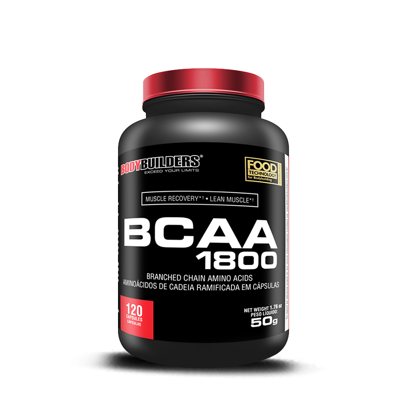 Bcaa 1800 (120caps) BodyBuilders