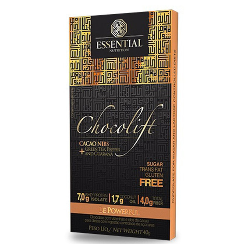 Chocolift Be Powerfull (Unidade-40g) Essential Nutrition