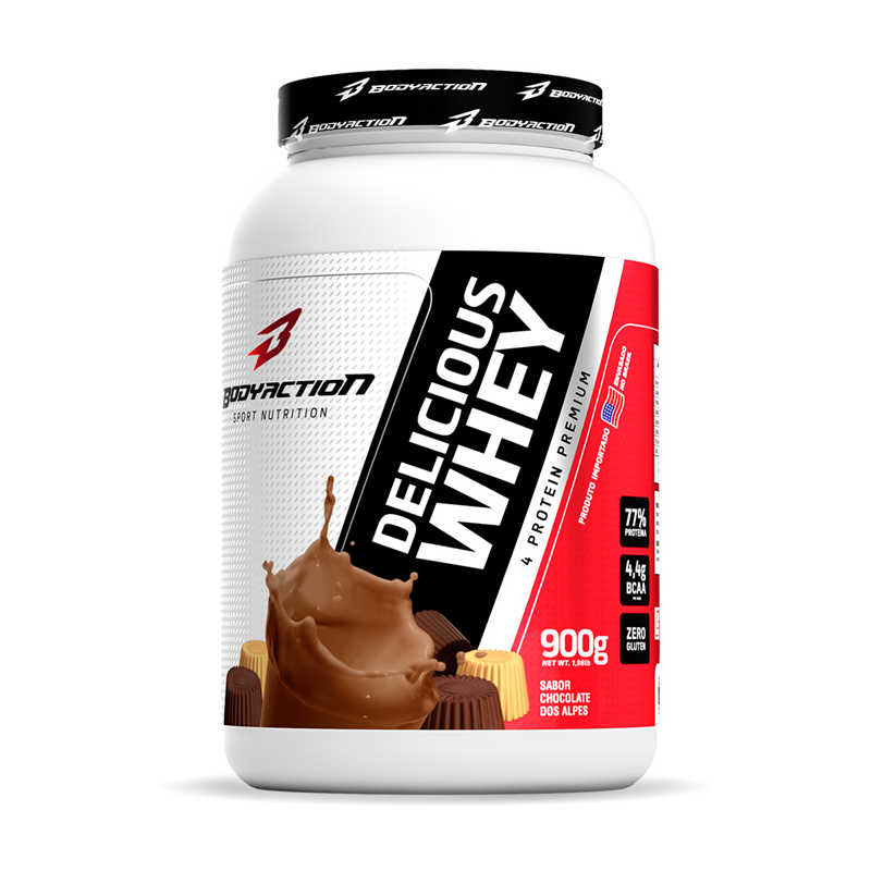 Delicious Whey (900g) BodyAction