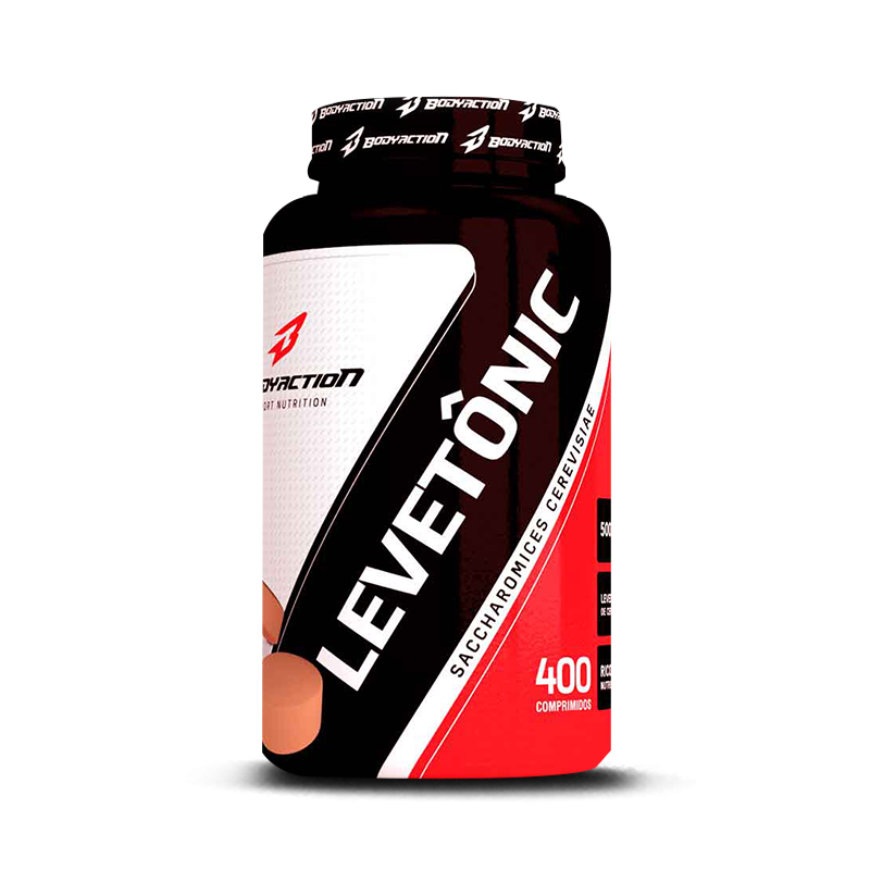 Levetonic (Levedo de Cerveja - 400tabs) BodyAction