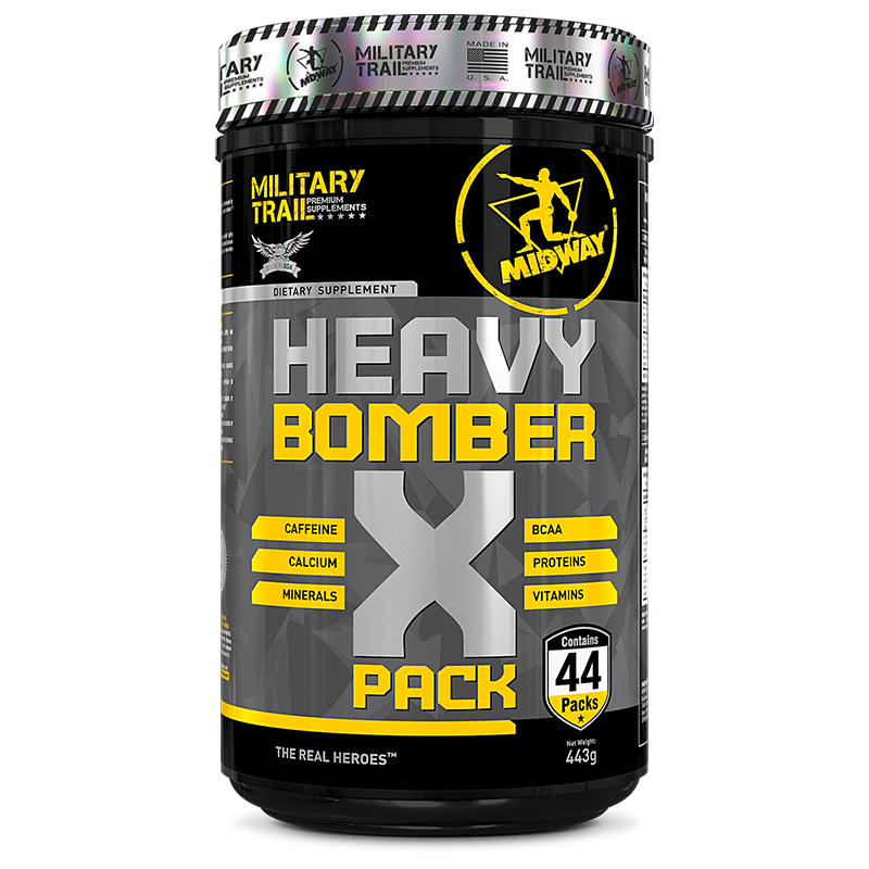 Heavy Bomber X Pack (44packs) Military Trail