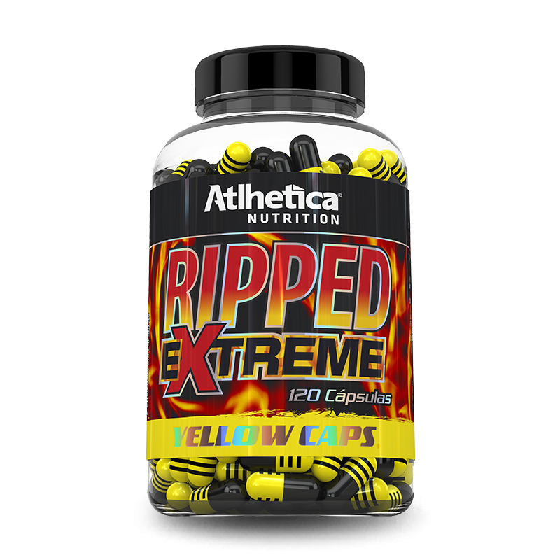 Ripped Extreme Yellow (120caps) Atlhetica Nutrition
