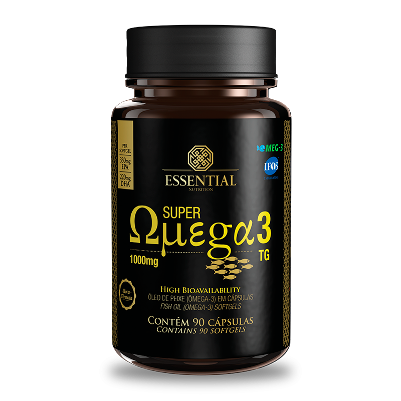 Super Omega 3 TG (90caps) Essential Nutrition