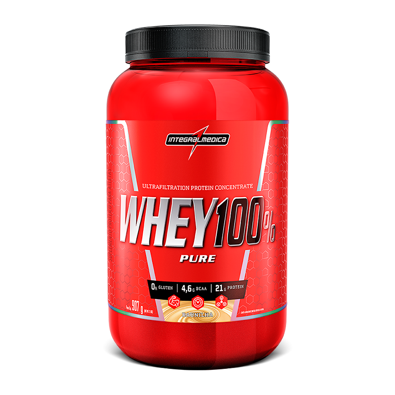 Whey 100% Pure (907g) IntegralMedica
