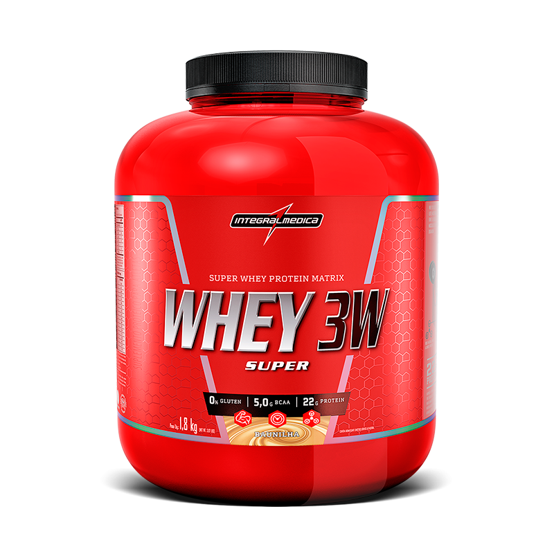 Super Whey 3W (1800g) IntegralMedica