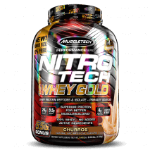 Nitro Tech 100% Whey Gold (2500g) MuscleTech-Churros