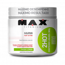 Ultimate 2HOT (360g) Max Titanium-Limão