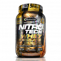 NitroTech 100% Whey Gold Isolate (907g) MuscleTech