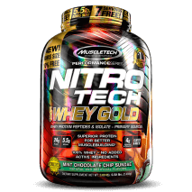 Nitro Tech 100% Whey Gold (2500g) MuscleTech-Mint Chocolate Chip Sundae