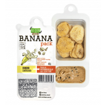 Banana Pack Castanha Cacau e Nibs (46g) Eat Clean