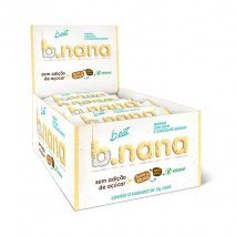 B.nana Coco com Chocolate Branco Display (12x35g) B-Eat