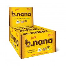 B.nana Amendoim com Chocolate Display (12x35g) B-Eat
