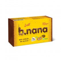 B.nana Amendoim com Chocolate Pack 3 Unidades (35g) B-Eat