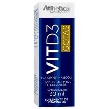 Vitamina D3 (30ml) Atlhetica Nutrition