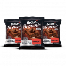 Brownie Chocolate Zero (3unid-40g) Believe