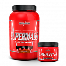 SuperMass (1,5kg) + Creatina Hardcore Reload (150g) IntegralMedica