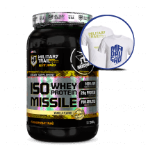 Iso Whey Protein Missile (930g) Military Trail  + Camiseta Grátis