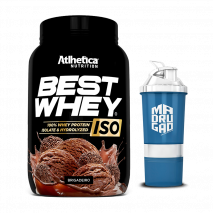 Best Whey ISO (900g) Atlhetica Nutrition + Coqueteleira Grátis