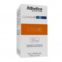 Coq10 50mg (60caps) Atlhetica Nutrition