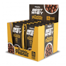 Best Whey Protein Peanut (12unid-50g) Atlhetica Nutrition - 40% OFF