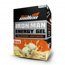 Iron Man Gel (10 Sachês-30g) New Millen-Baunilha