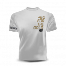 Camiseta #GO FOR THE GOLD Optimum Nutrition