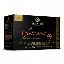 L-Glutamina (30 sachês-5g) Essential Nutrition