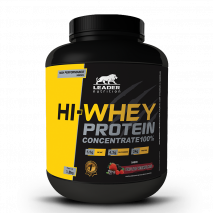 HI-Whey Protein Concentrado (1800g) Leader Nutrition