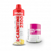 L-Carnitina 2300 (960ml) Atlhetica Nutrition + Collagen Diet Grátis