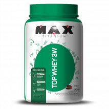 Top Whey 3W Mais Natural (900g) Max Titanium