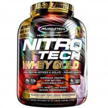 Nitro Tech 100% Whey Gold (2500g) MuscleTech-New York Berry Cheesecake
