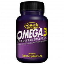 Ômega 3 500mg (70caps+70 grátis) Power Supplements