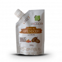 Pasta de Amendoim Cacau Zero (200g) Eat Clean
