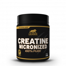 Creatina Micronized 100% Pure (300g) Leader Nutrition