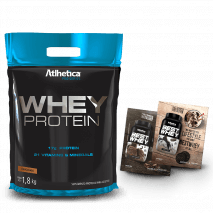 Whey Protein Pro Series (1800g-Refil) Atlhetica Nutrition + 2 Amostras Best Whey Grátis