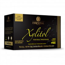 Xylitol (50 sachês-5g) Essential Nutrition - 50% OFF