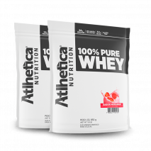 100% Pure Whey (2unid-850g) Atlhetica Nutrition