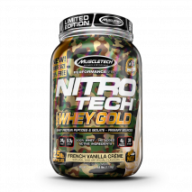 Nitro Tech 100% Whey Gold Camuflada (1113g) MuscleTech