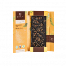 SuperFoods 67% Cacau Banana + Carvão Ativado (80g) Chocolife