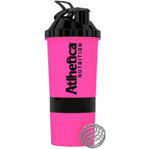 Blender W/Ball Neon Pink (600ml) Atlhetica Nutrition
