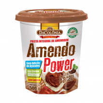 Amendo Power com Cacau (500g) DaColônia