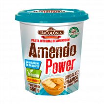 Amendo Power Chocolate Branco (450g) DaColônia