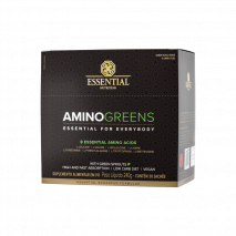 Amino Greens (30 Sachês de 8g) Essential Nutrition