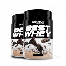 Best Whey (2x450g) Atlhetica Nutrition