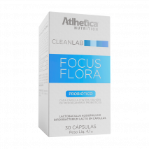 Focus Flora (30caps) Atlhetica Nutrition - 30% OFF