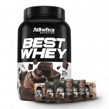 Best Whey (900g) Atlhetica Nutrition + 5 Doses Grátis