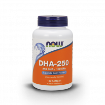 DHA 250mg (120caps) Now Sports